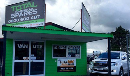 Total commercial spares shop