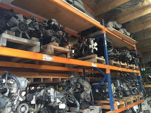 parts in car yard