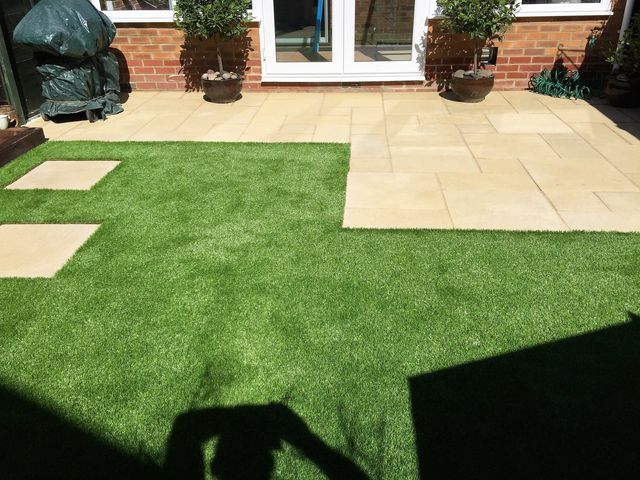 Affordable patios and paving