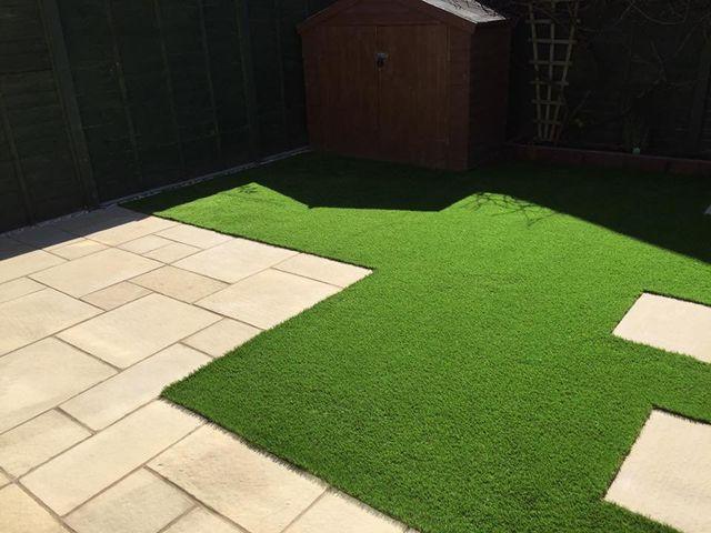 Artificial grass supply
