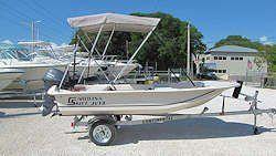 New 2016 13' Carolina Skiff 13 JV TH Boat for Sale