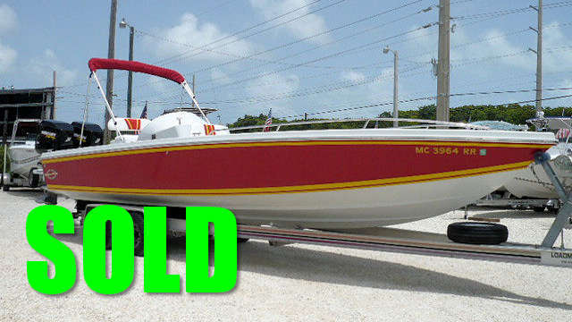 SOLD - 1986 27' Magnum Marine Original Center Console