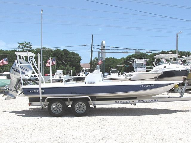 2014 20' Concept Flat Boat