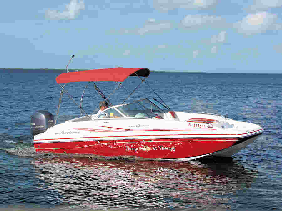 2014 Hurricane 18' SD187 Deck Boat for Sale