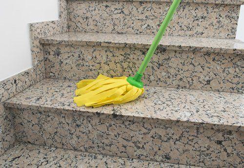 pulizia condomini e scale