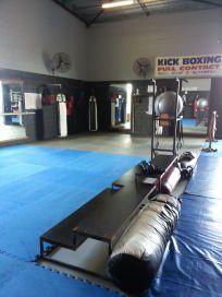 Training floor space