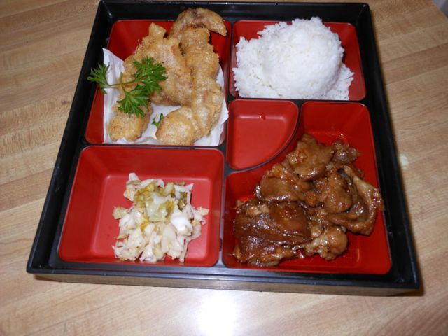 Our Japanese lunch and dinner items in Wailuku, HI