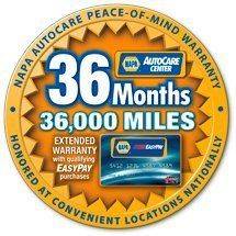 24 months 24,000 miles warranty