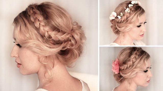 Occasion hairdressing