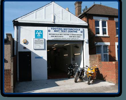 Motorcycle MOT - London, Tooting - The Tooting Motorcycle MOT Test Centre - Motorcycle repairs