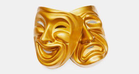golden face masks