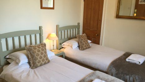 twin bedroom for shared accommodation