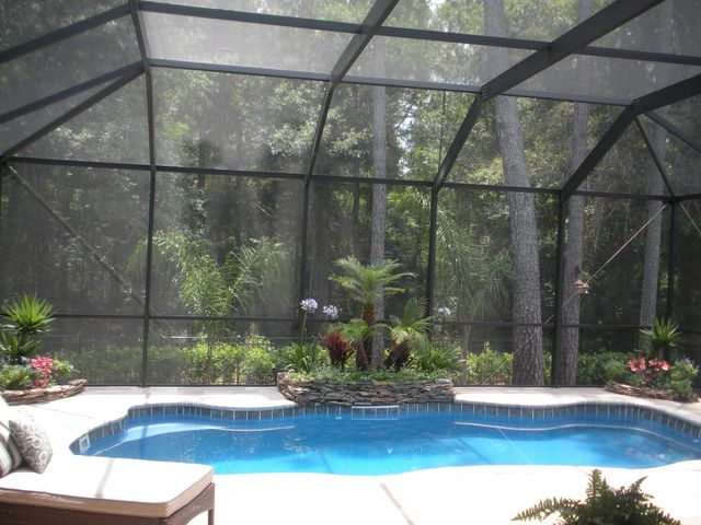 Backyard Enclosures screen enclosure installation | jacksonville, fl | backyard creations