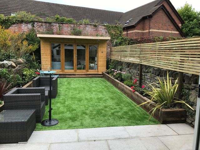 Landscape Gardener Cardiff Capital fencing decking cardiff garden sit out workwithnaturefo