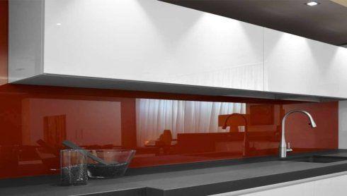 Schienali Cucina In Vetro Su Misura - Treia - VETRERIA DEL POTENZA
