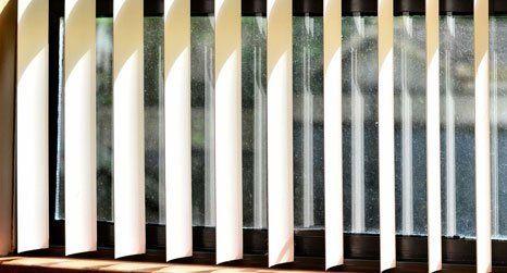 Louvolite vertical blinds