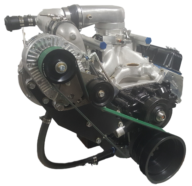 Supercharged and turbocharged Mopar engines