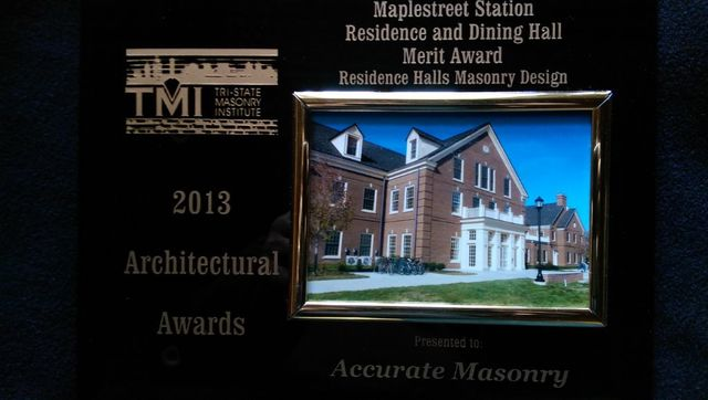 maplestreet station award