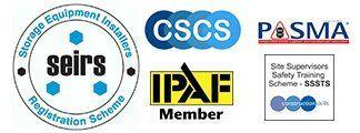 seirs cscs PASMA logos