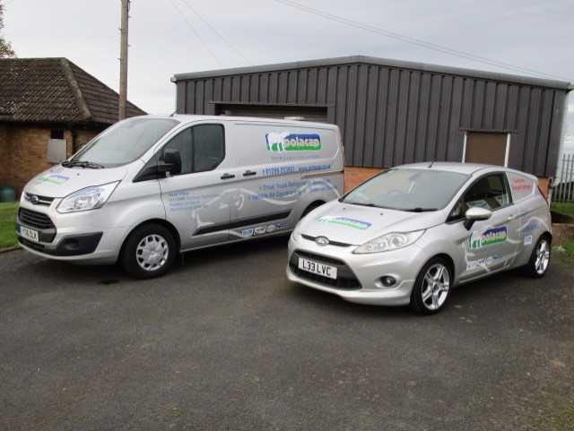new brand white van