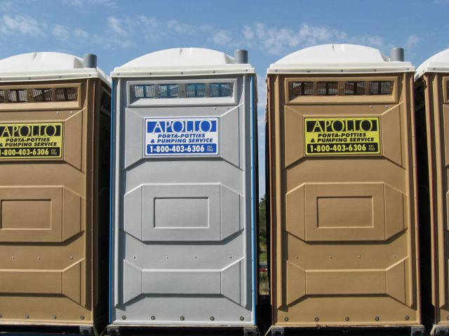 line of portable toilet rentals in Mexico, MO