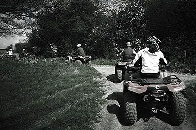 quad biking trek