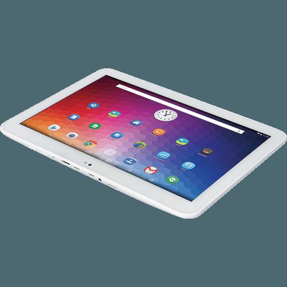 Sottile, compatto e leggero: e-tab Style si presenta come un tablet potente e versatile.Uno schermo chiaro e leggibile in Full HD viene protetto, poi, da un vetro temperato e antrigraffio