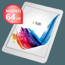 e-tab style Dotato di sistema operativo Android, e spinto da un Soc Quad Core cui si affiancano 2 GB di RAM