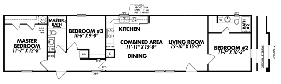 Single Wide Mobile Homes for Sale