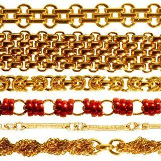 delle catene dorate e di color bronzo