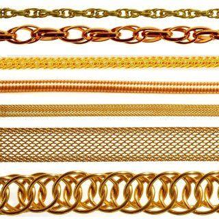 catene metalliche ornamentali in alluminio  ottone rame similoro