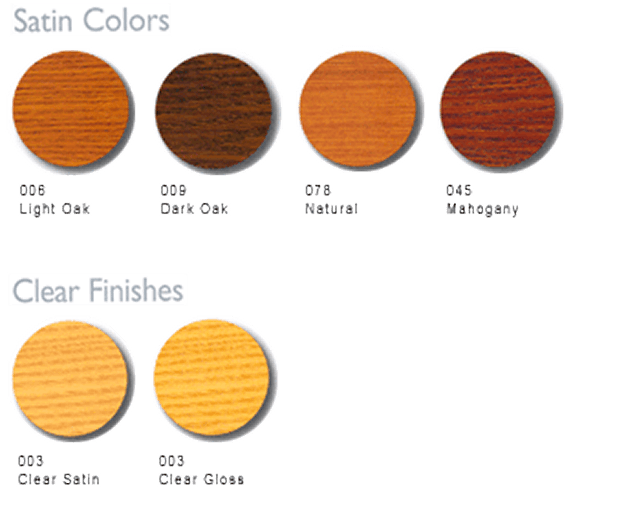 Types of Stain Colors