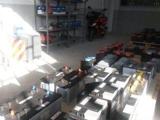 batterie in magazzino