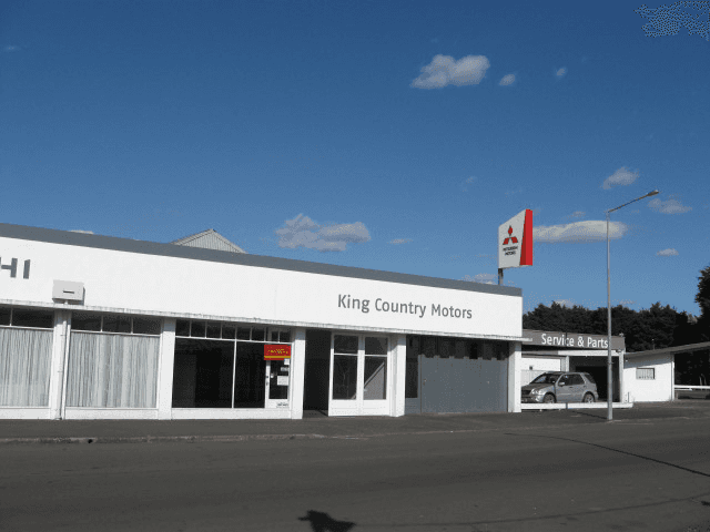 A service workshop fixing cars in the Ruapehu District
