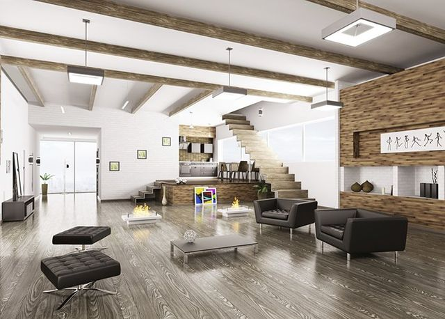 Interior of modern apartment - Home Cleaning - House & Commercial Cleaning in Torrance, CA