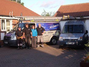 Tiling - Scarborough, North Yorkshire - A Crosier - Van