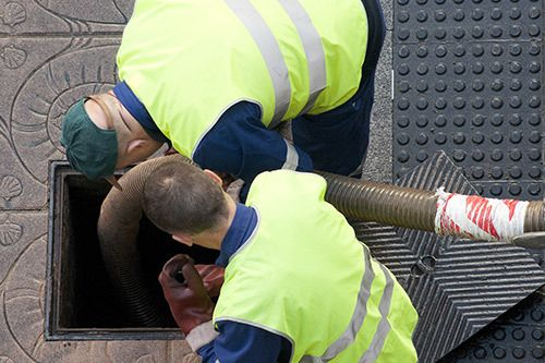 Sewer and drain repair services in action in Waikoloa, HI