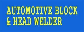Automotive Block And Head Welder
