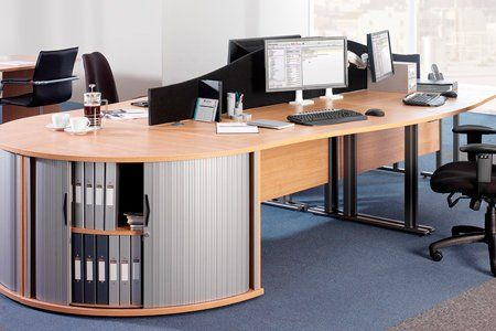 employees workstations