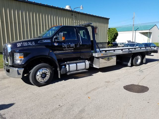 2017 Ford F650 Flatbed