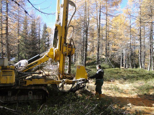 Geologia ambientale e geotecnica a Prata Camportaccio