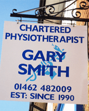 Chartered Physiotherapist Gary Smith