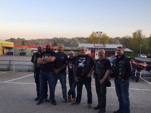 I sette membri del team