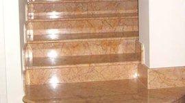 progettazione scale in marmo