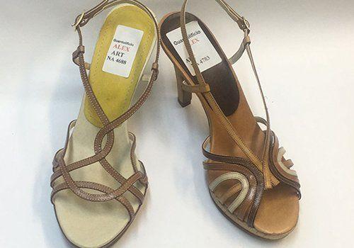 due calzature progetta in vendita