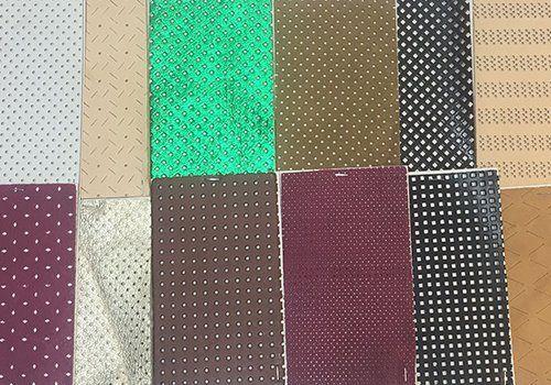 tessuti di vario colore
