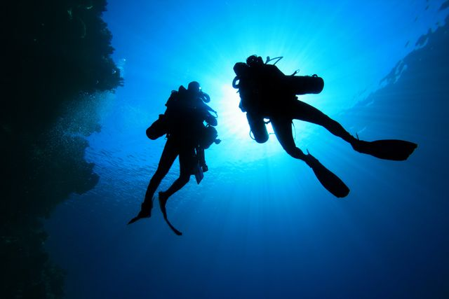 Diving courses from code blue education