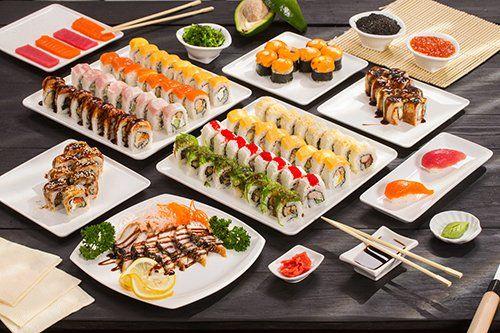 Sushi a pranzo