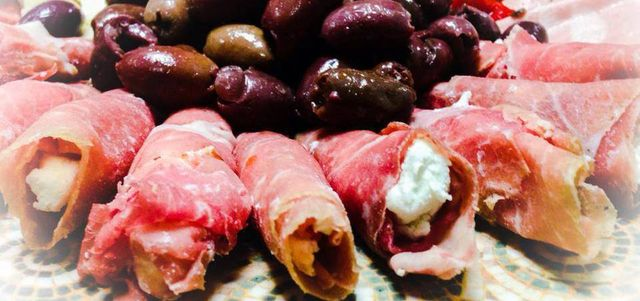 Homemade Antipasto's