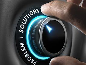 Problem Solutions Button